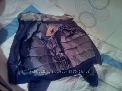 Куртка на пуху S-M ррболеро S-M рр вместе, но можно и отдельно.