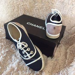 Туфли кеды кроссовки Chanel 38р