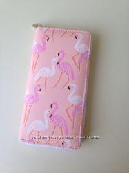 Кошелек с фламинго