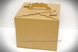 Коробки для торта, кексиков, маффинов, эклеров