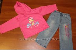 Комплект джинсыкофточка