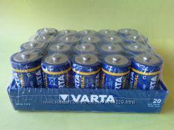 Батарейки Varta Industrial Alkaline LR14 тип C оригинал