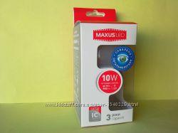 Лампочка светодиодная энергосберегающая Maxus Led A60 E27 10 W оригинал