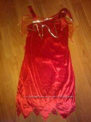 карнавальное платье Дьявол, ведьма с крыльями. M. Хеллоуин