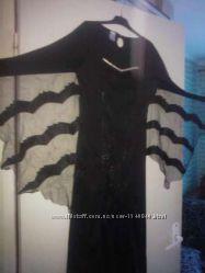 карнавальное платье, ведьма, вампир, чародейка, летучая мышь S M