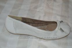 Балетки туфлі шкіра Tamaris розмір 41 42, туфли кожа