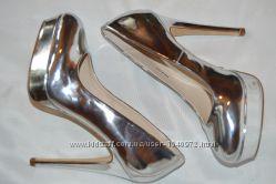 Туфлі дзеркальні Even&Odd розмір 37 36, туфли
