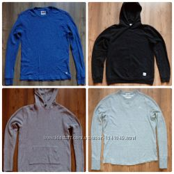 Кофты Levi&acutes, Only&Sons, River Island, Abercrombie&Fitch свитшот