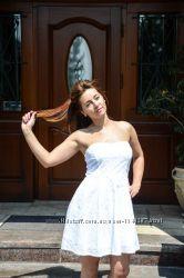 Белое платье Forever21