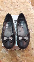 Туфли кожаные на девочку 35 размер