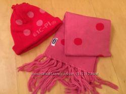 Шапка с шарфом Chicco осень
