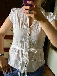 Чисто белая блузка Atmosphere
