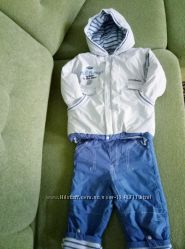 Зимний костюм комбез и куртка Coccobello Польша размер 98