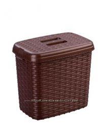Коробка для порошка, корзинка для мелочи, 2 л, с крышкой