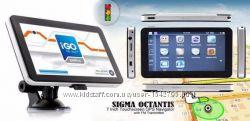 Отличный GPS навигатор 7д Sigma Octantis 2 яд. лучший GPS-чипсет SIRF-ATLAS