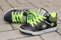 Скейтера, кроссовки, кеды, демисезонные ботинки на мальчика clibe 31-36р