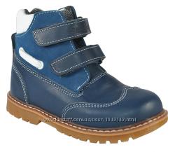 Ботинки кожаные детские ортопедические  06-565