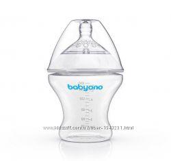 Бутылка антиколиковая 180 мл NATURAL NURSING BabyOno