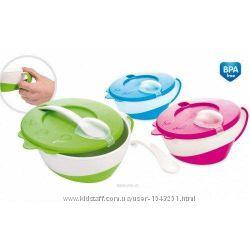 Тарелка-миска с удобной ручкой Canpol Babies