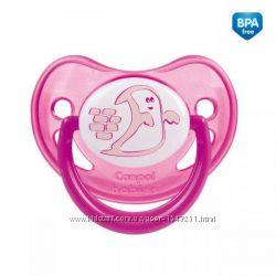 Пустышка силиконовая анатомическая 0-6 м6-18м Night dreams Canpol Babies