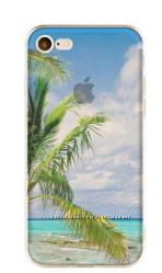 Премиум силиконовый чехол с природой в 3D для Iphone 7 7s