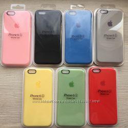 Фирменные Силиконовые чехлы для iphone 6 6s 7 8 в упаковке