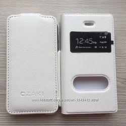Чехлы книжечки длятелефона iphone 4 4s белые