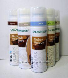Жидкая краска с губкой Salamander Nubuk Velours