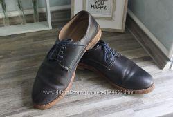 Кожаные туфли Zara