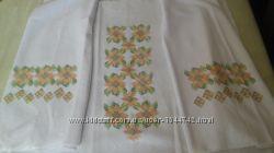Заготовка для вишивки жіночої блузи на натуральній тканині