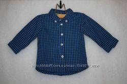 Рубашки фирмы h&m на мальчика на возраст 3-6 месяцев рост 68 см