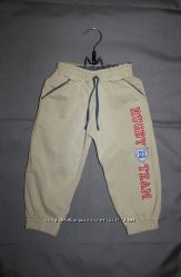 Спортивные штаны теплые на мальчика рост до 74 см 12-18 месяцев