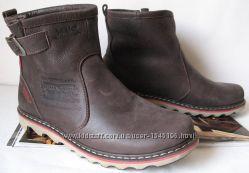 Levis Мужские зимние кожаные Levi&acutes Угги Левис ботинки сапоги уги