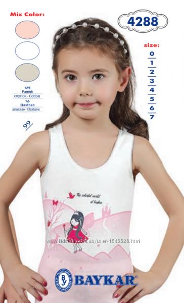 Новинки белье Baykar Турция для девочек