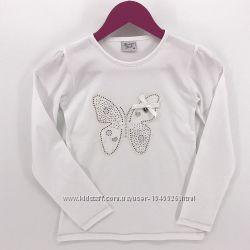 Белые блузочки к школе для девочек от 104р. до 164 р. , Breeze