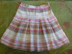 Красивая льняная юбка