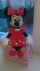 Вязаная игрушка малышка Минни Маус
