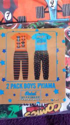 primark, набор  пижам  для мальчика  на 3-4, 4-5