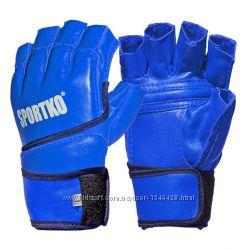 Перчатки с открытыми пальцами ММА