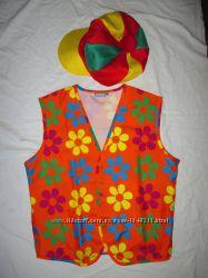 Partymix Клоун костюм карнавальный жилет М
