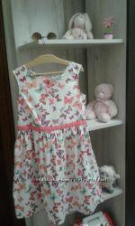 Летнее лёгкое платье 7-8 лет