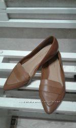 Балетки, туфли new look 38 р. эко кожа