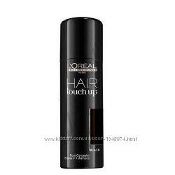 Loreal professionel Hair Touch спрей для подкрашивания волос чорный,