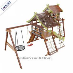 Детская игровая площадка-хижина Аквитания