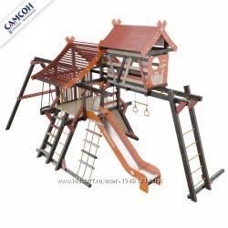 Детская игровая площадка-хижина Корсика
