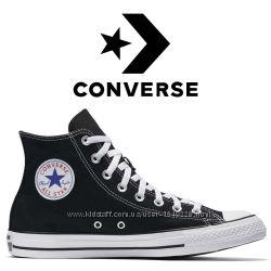 Кеды Converse All Star Оригинал Чёрные Конверсы M9160C