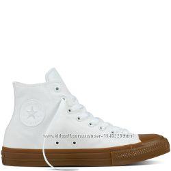 Кеды Converse All Star 2 Белые Высокие Конверсы Оригинал