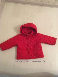 Весенняя демисезонная куртка стеганая 74см