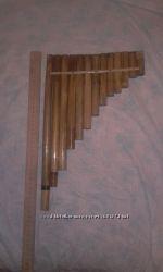 Пан-флейта пентатоника GABDE B0 Bb0 с бендом - E3