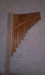 Пан-флейта 2полутона-темперированная D1 D с бендом - F3
